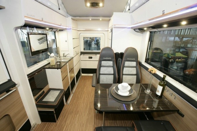 caravana interior