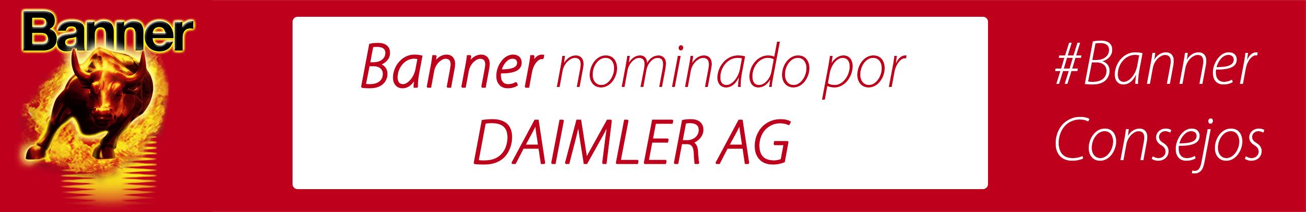 Banner nominado por DAIMLER AG