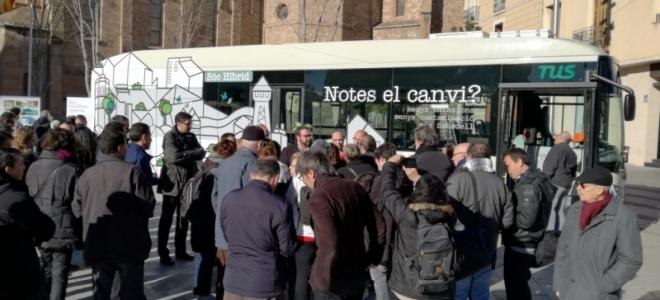 AZ provee equipos limpiaparabrisas al nuevo autobús híbrido de Transportes Urbanos de Sabadell