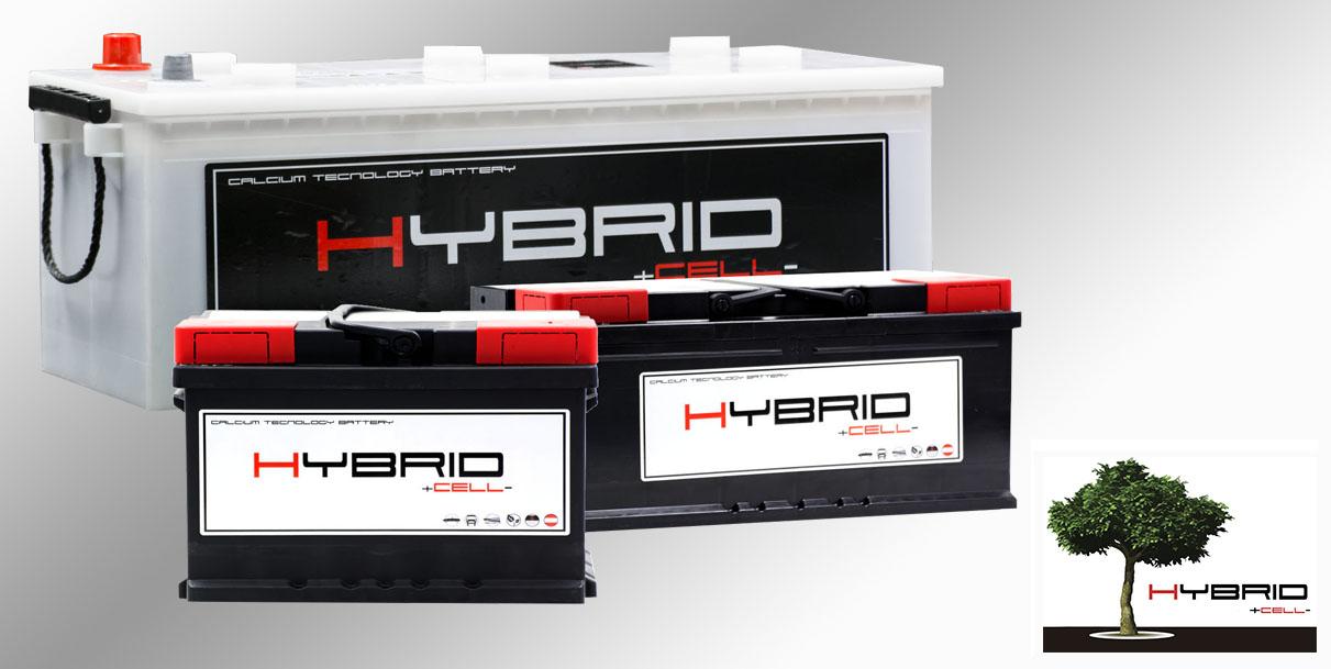 Lanzamiento de nuestra nueva línea de baterías HybridCell
