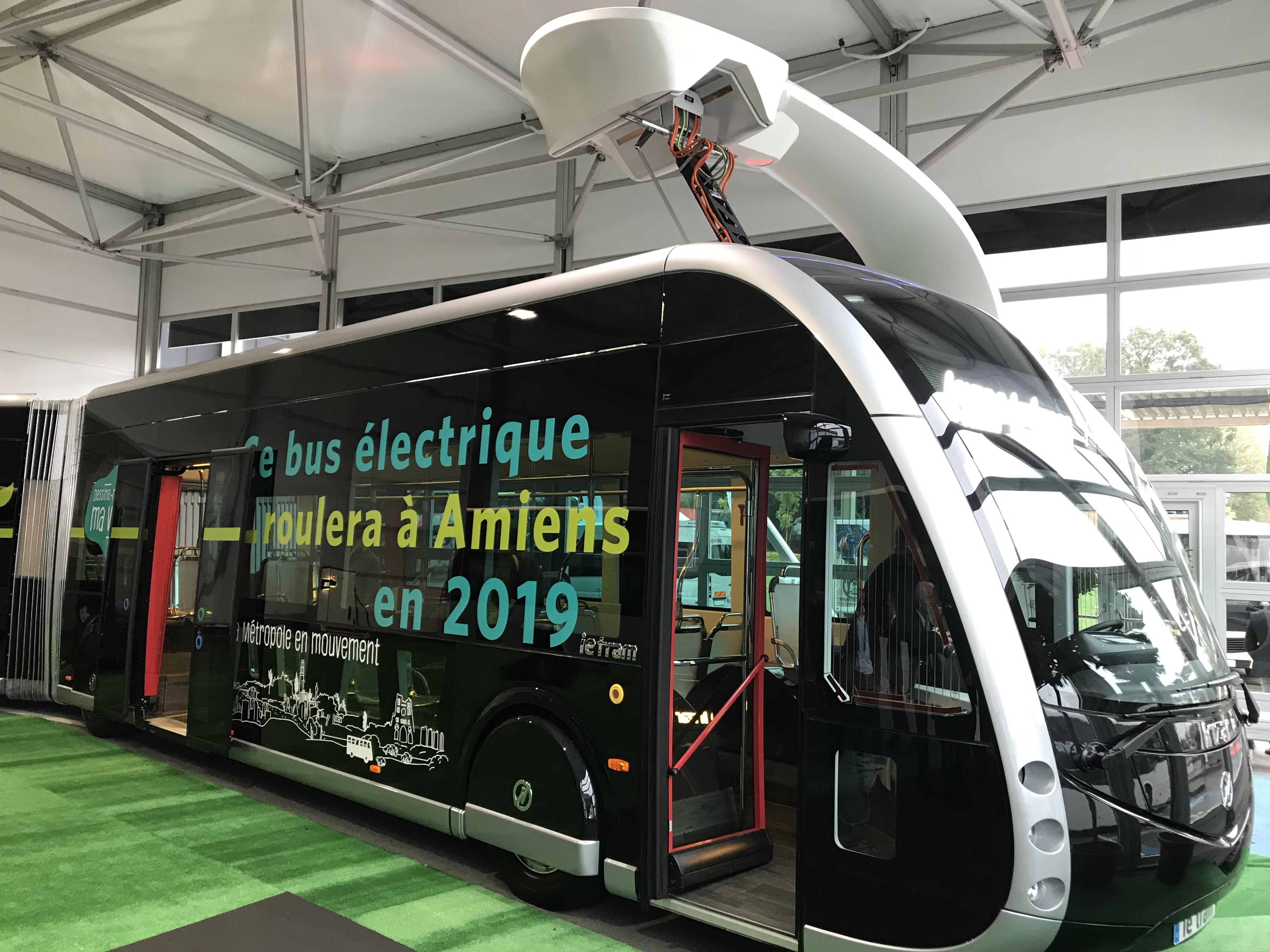 La ciudad de Amiens (Francia) apuesta por el 43 ie tram de Irizar para su proyecto BRT