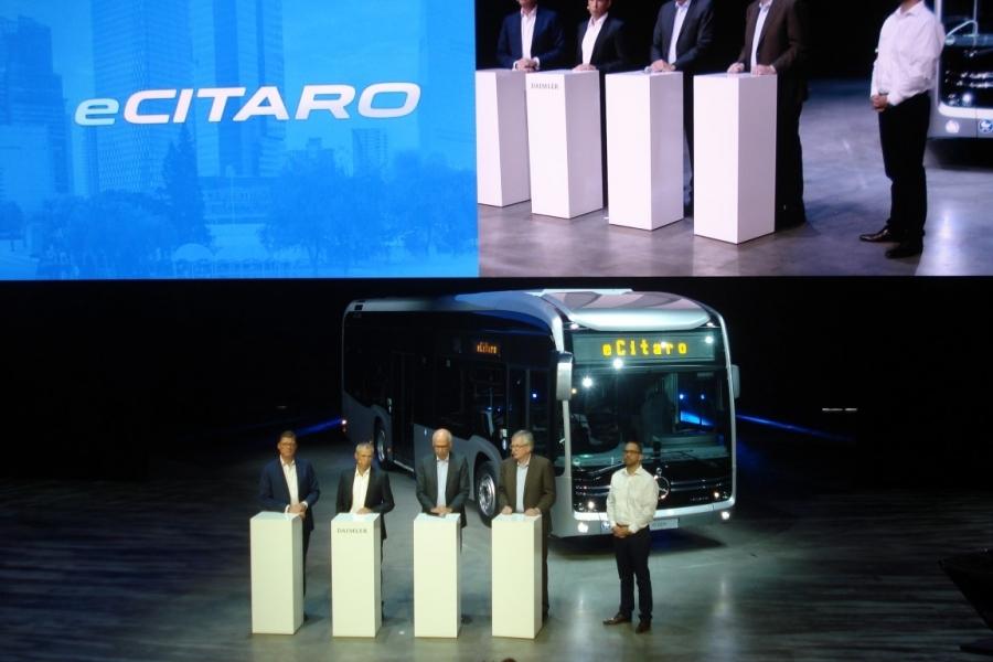eCitaro se llamará el nuevo autobús eléctrico de Daimler